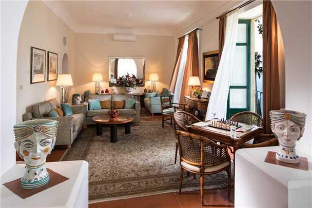 Hotel Villa Belvedere in Taormina Lobby