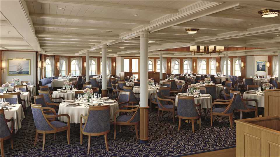 Sea Cloud Spirit Restaurant