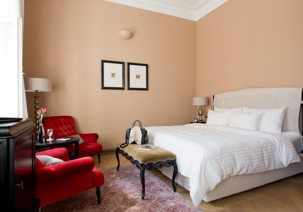 Hotel Telefgraaf Superior Doppelzimmer