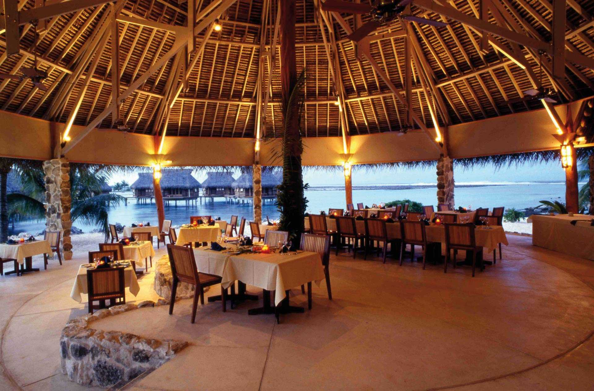 Tikehau Pearl Beach Resort Restaurant