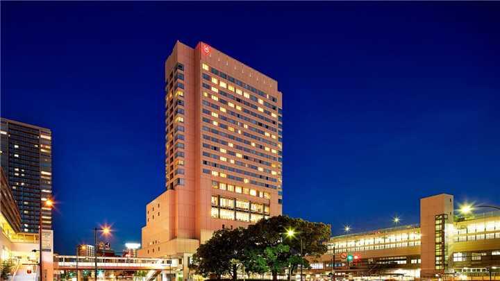 Sheraton Grand Hiroshima Hotel Hotelansicht