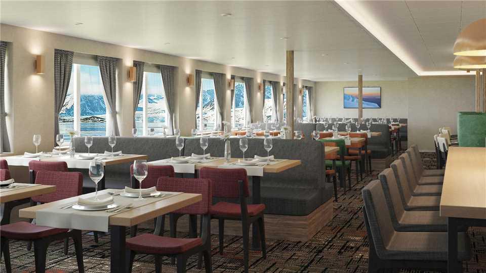 Oceanwide Expedition MS Hondius Restaurant