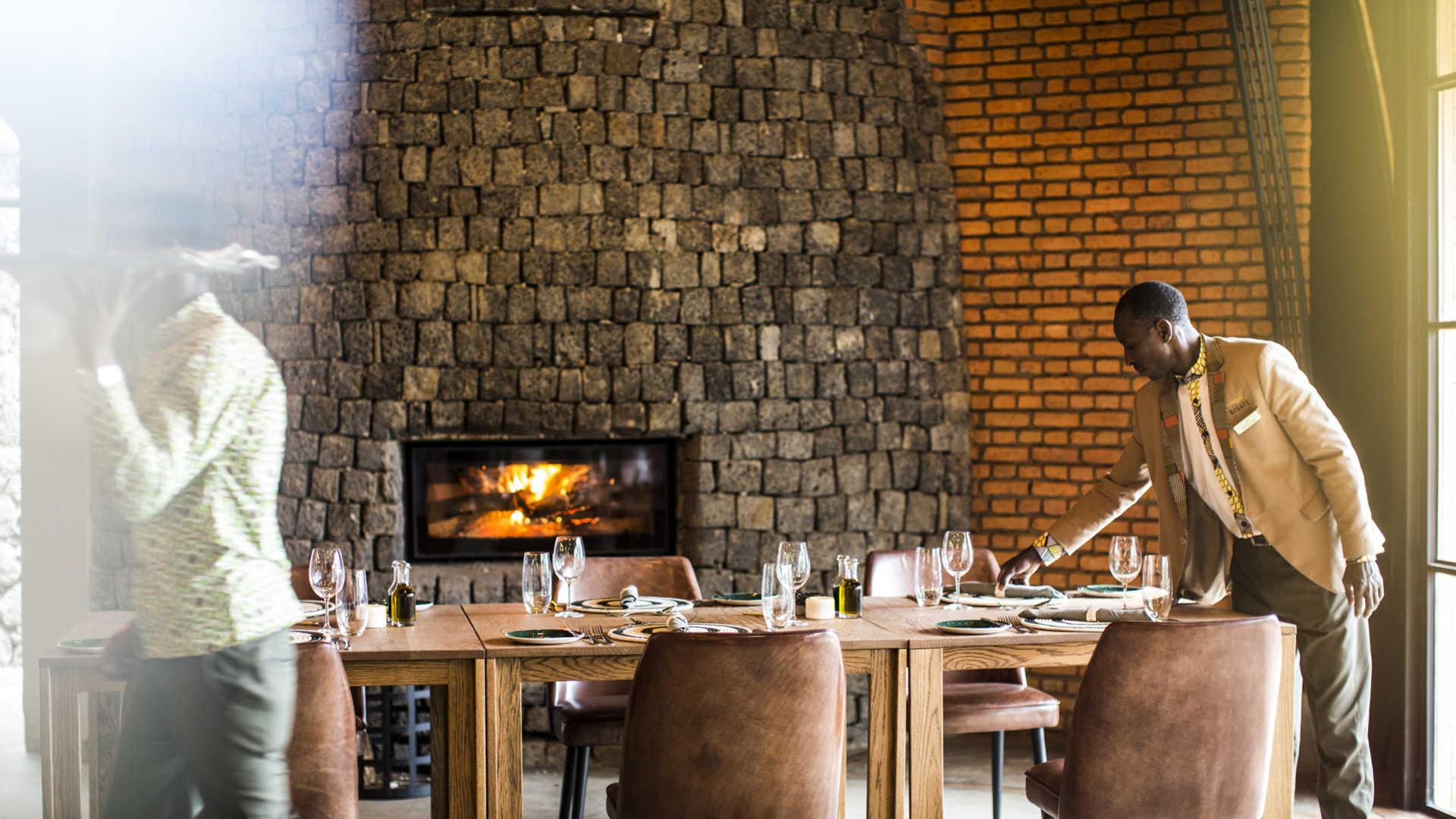 Bisate Lodge Restaurant