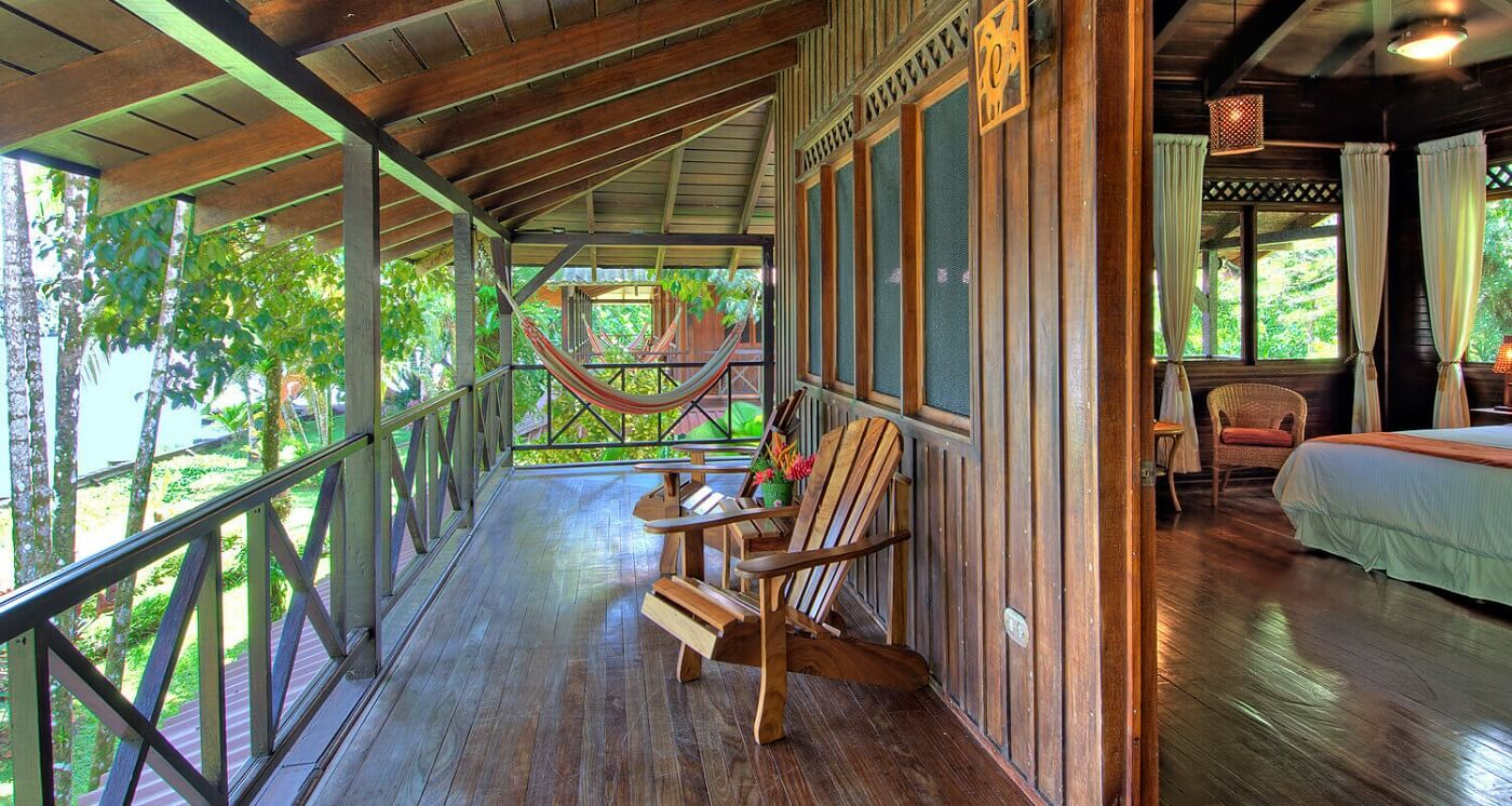 Tortuga Lodge and Gardens Balkon