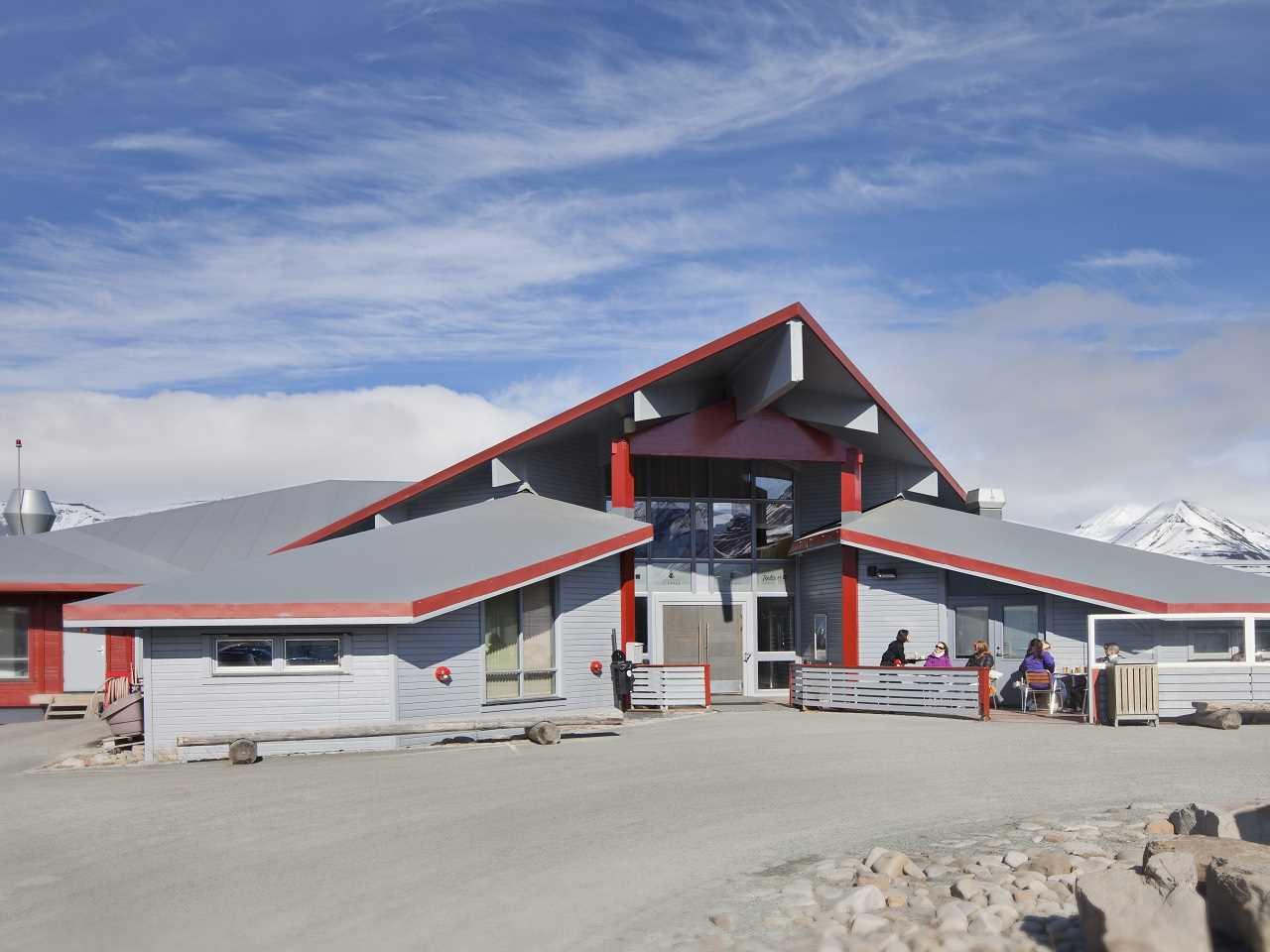 Radisson Blu Polar Hotel Spitsbergen Außenansicht