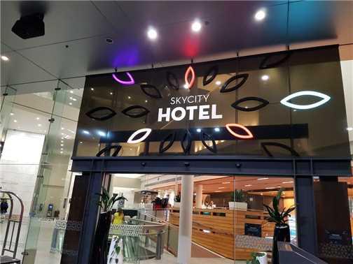 SkyCity Hotel Auckland Eingang