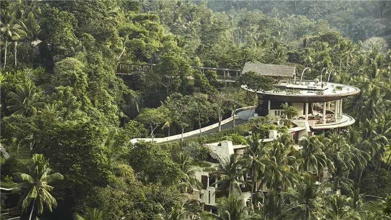 Four Seasons Resort at Sayan Ansicht