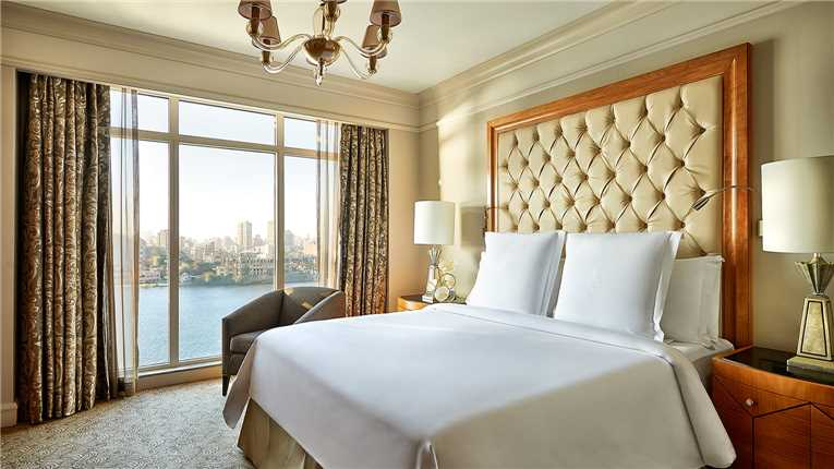 Four Seasons Hotel Cairo at Nile Plaza Doppelzimmer