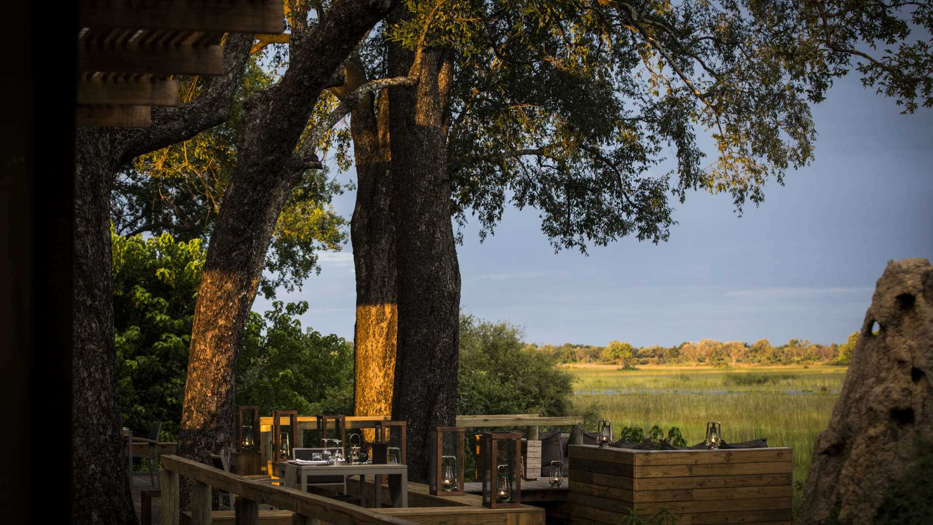 Vumbura Plains Restaurant