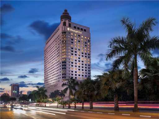 Sule Shangri-La Yangon Außenansicht