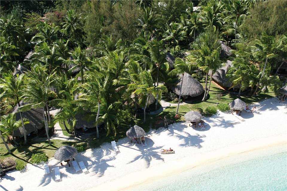 Sofitel Bora Bora Marara Beach Resort Luftaufnahme