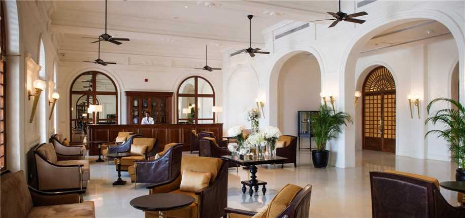 Galle Face Hotel Empfang