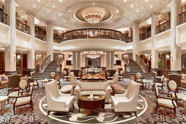Hotel St. Regis Moskow Nikol' skaya Lobby