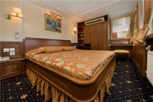 Volga Dream Deluxe Junior Suite Sonnendeck