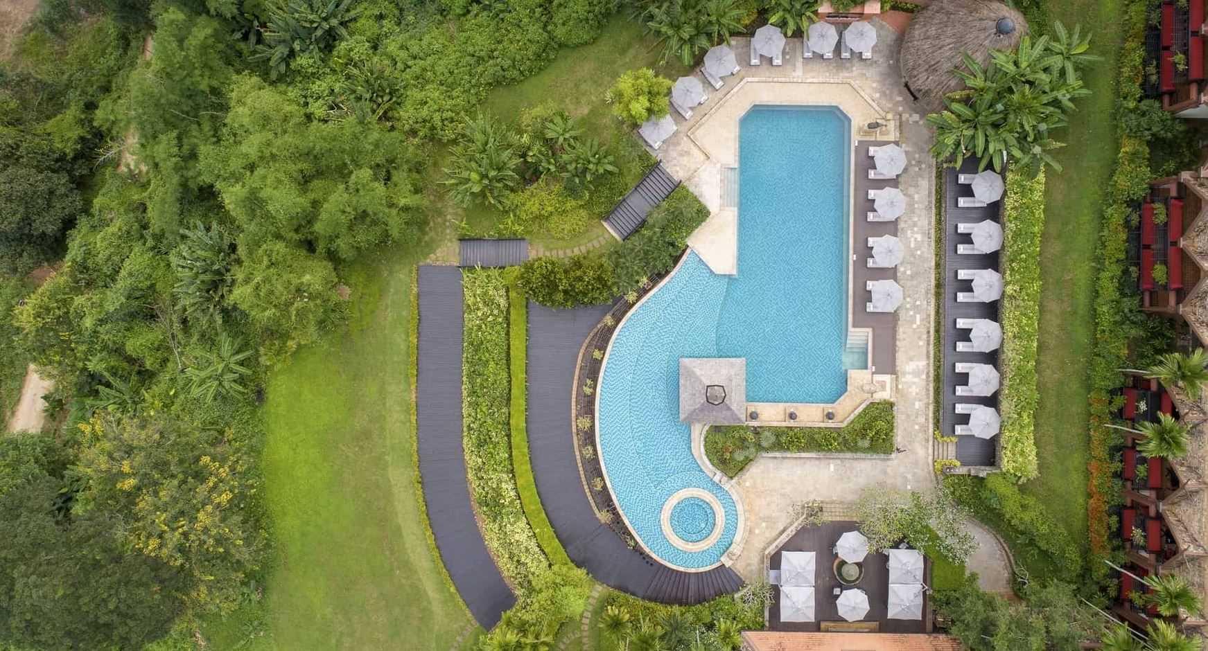 Anantara Golden Triangle Elephant Camp & Resort Pool