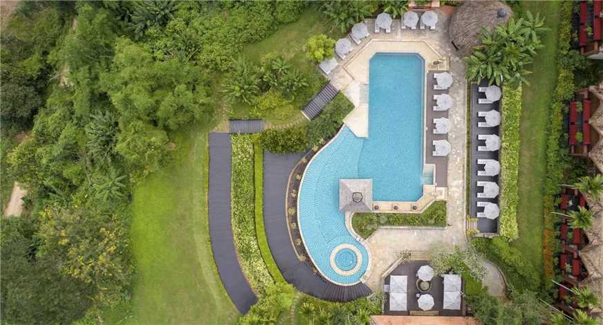 Anantara Golden Triangle Elephant Camp & Resort Pool