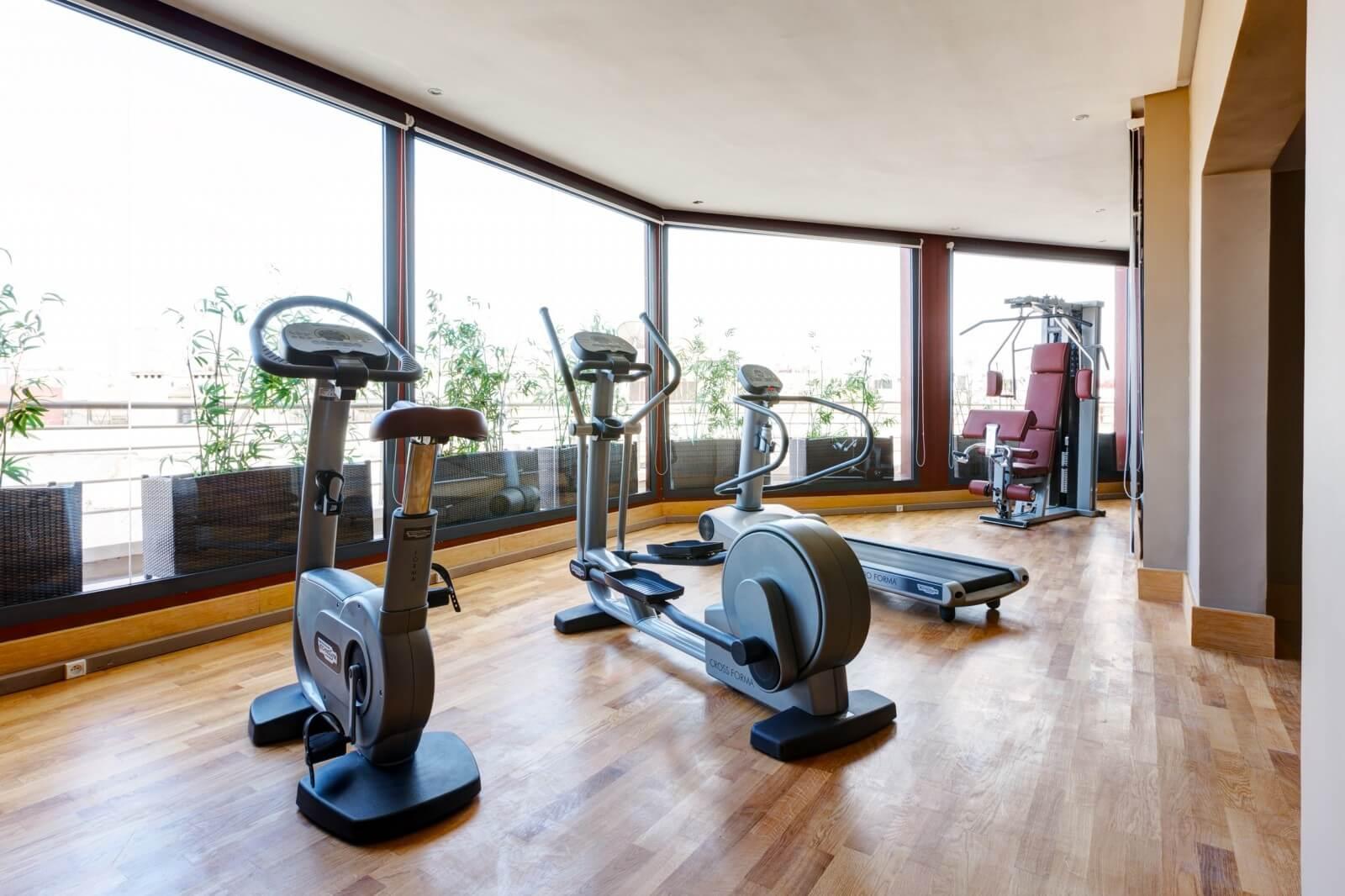 Gray Boutique Hotel & Spa Fitnessbereich