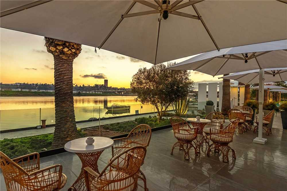 Dawliz Resort & Spa Terrasse