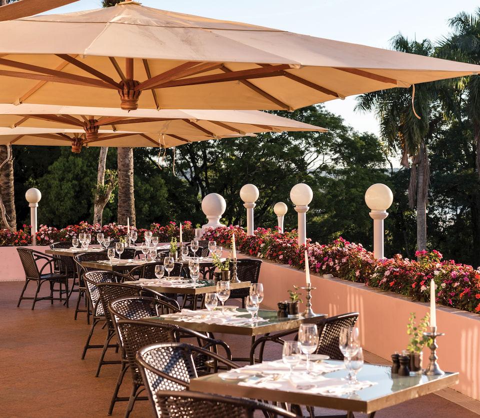 Belmond Hotel das Cataratas Terrasse
