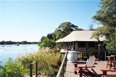 Shametu River Lodge Terrassenblick