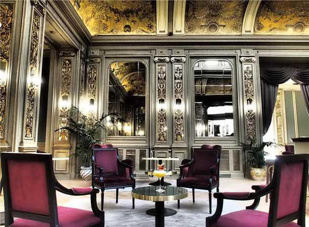 Grand Hotel et des Palmes Lobby