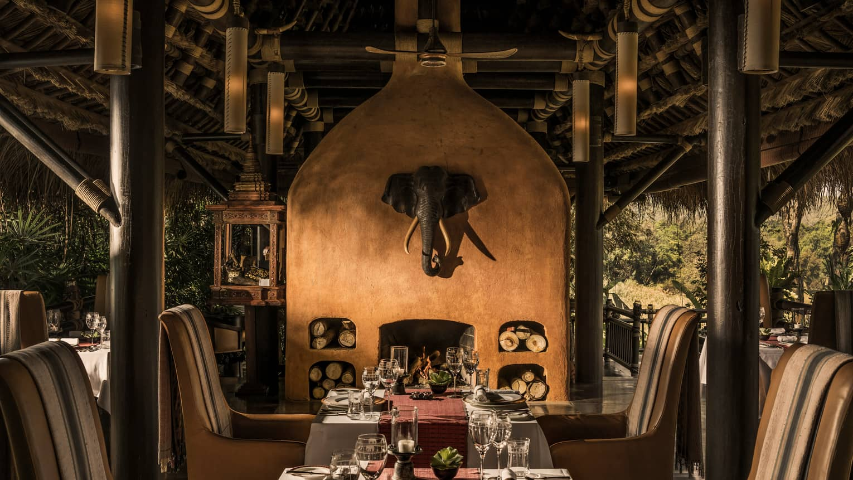 Four Seasond Tented Camp Golden Triangle Restaurant