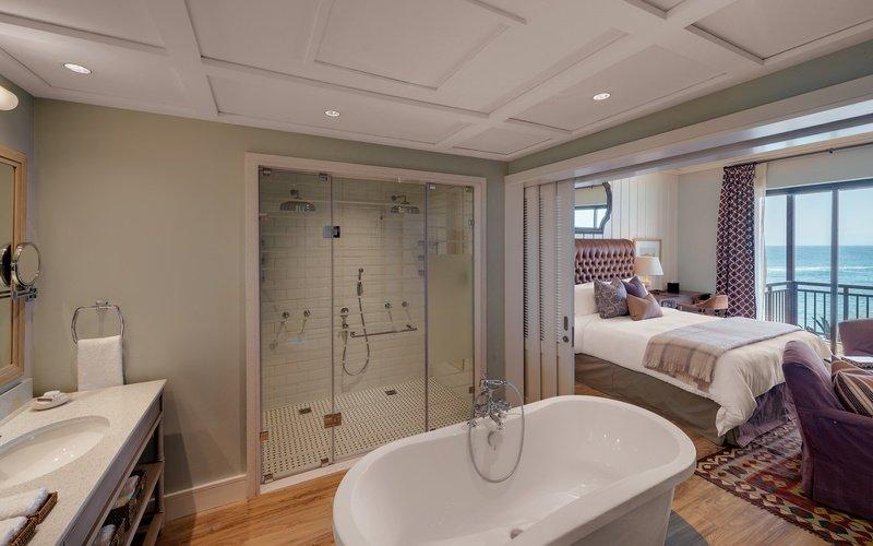 Strand Hotel Badezimmer