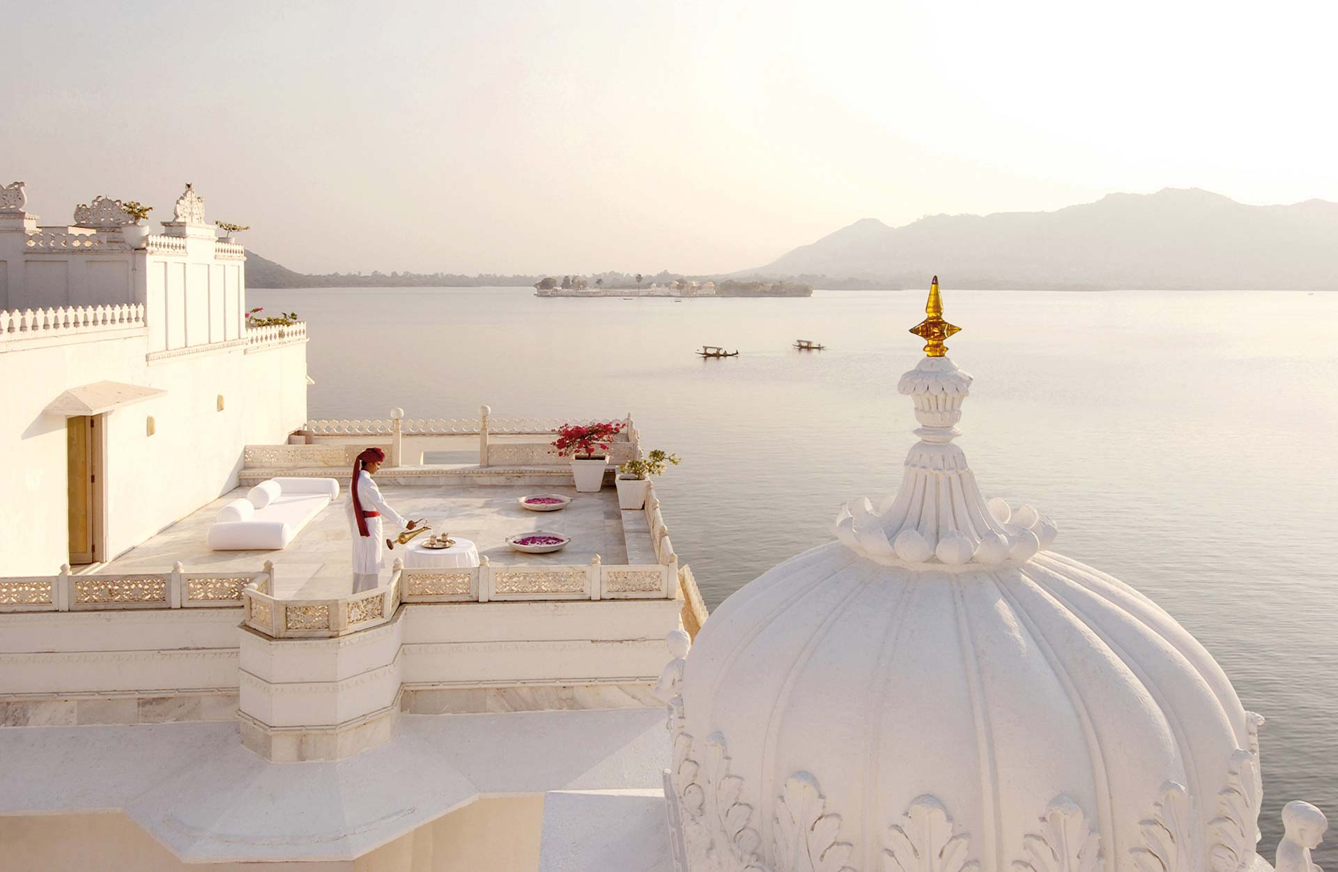Taj Lake Palace Ausblick