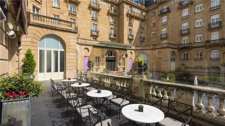 Hotel Maria Christina Bar Terrasse