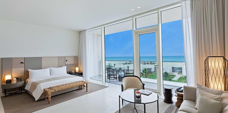 The Oberoi Beach Resort Premier Room Terrasse