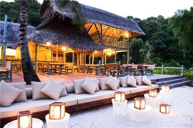 St. Regis Mauritius Resort Strand Terrasse
