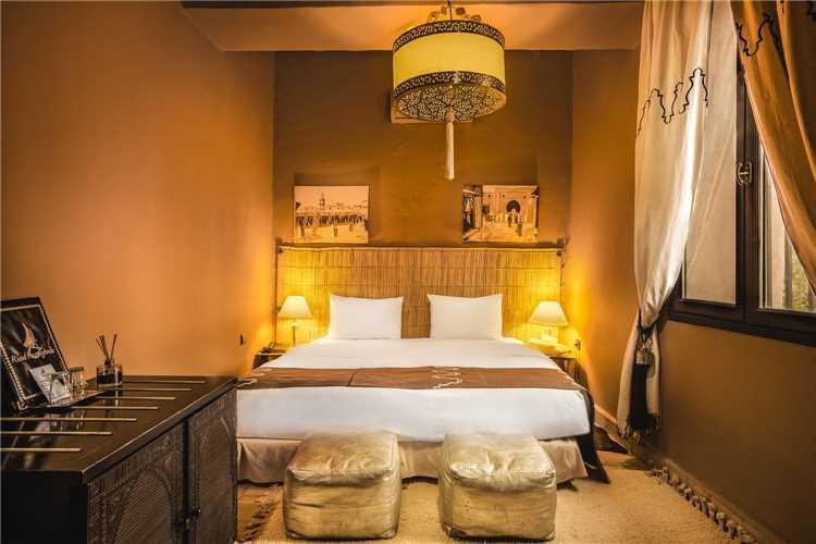 Riad Ksar Ighnda Doppelzimmer