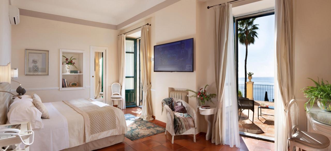 Hotel Villa Belvedere in Taormina Doppelzimmer