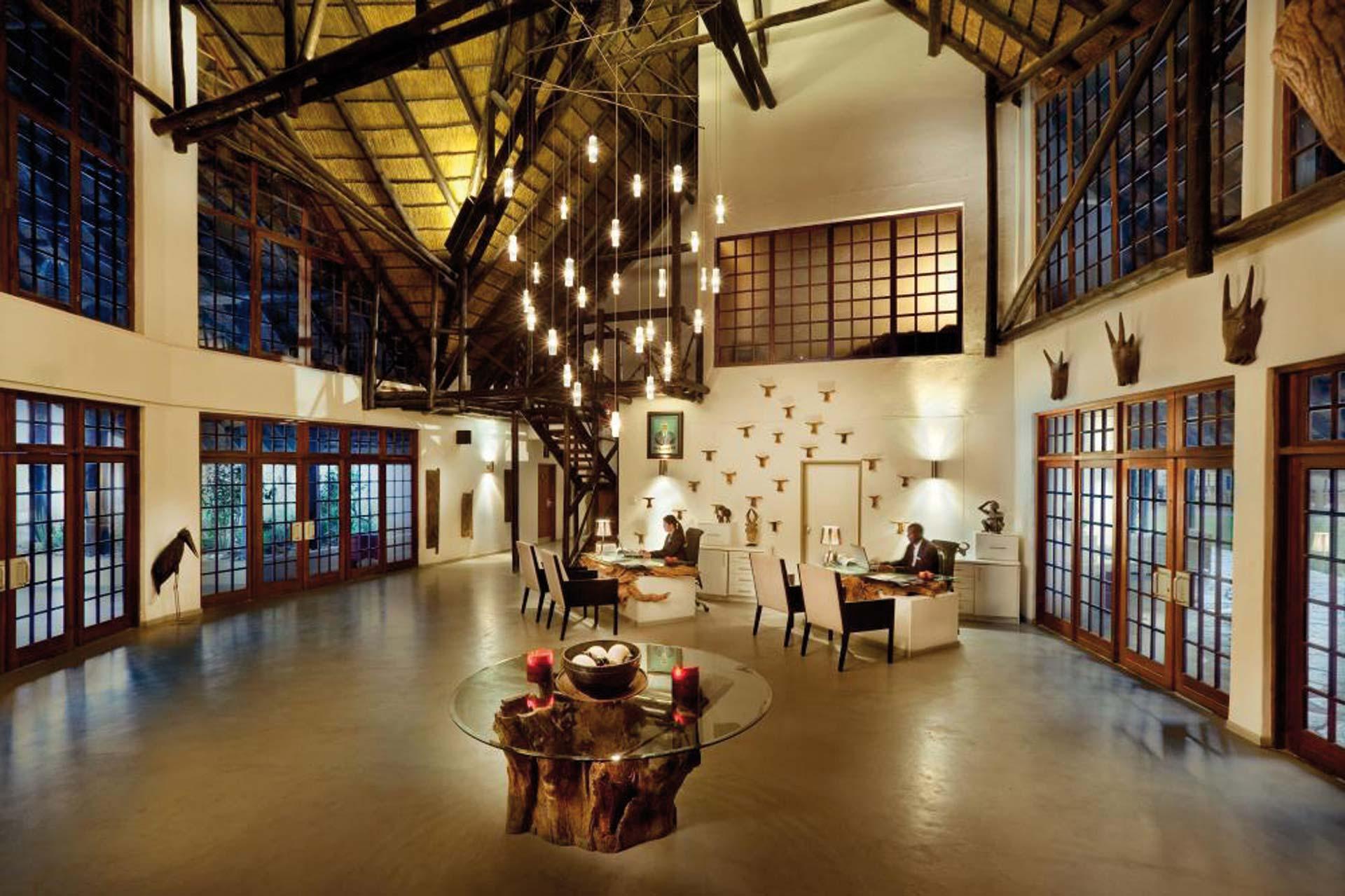 Mokuti Etosha Lodge Lobby
