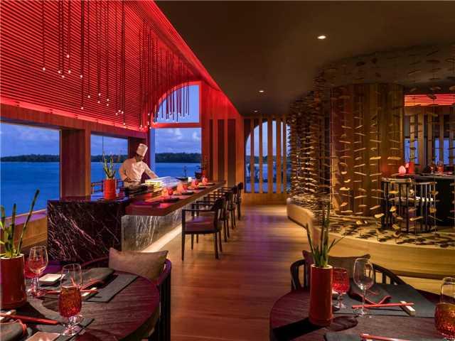 Shangri-Las Le Touessrok Resort & Spa Kushi Restaurant