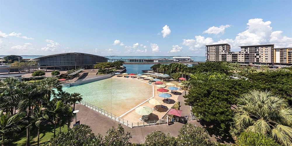 Vibe Hotel Darwin Waterfront Außenanlage