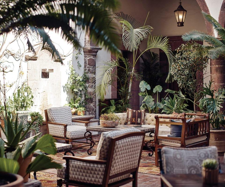 Belmond Casa de Sierra Nevada Lounge
