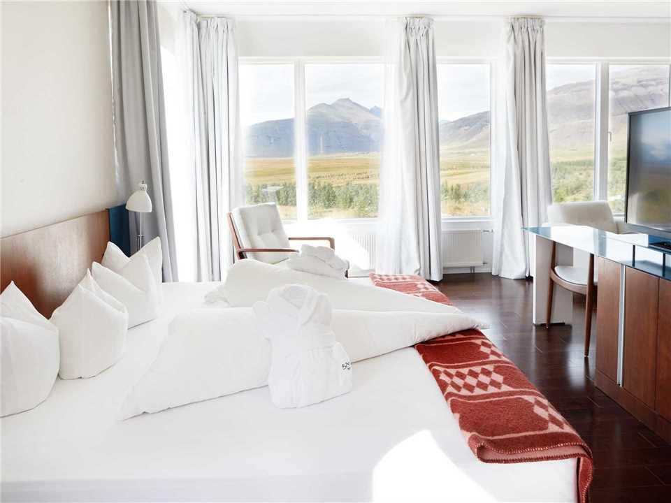 Fosshótel Vatnajökull Doppelzimmer