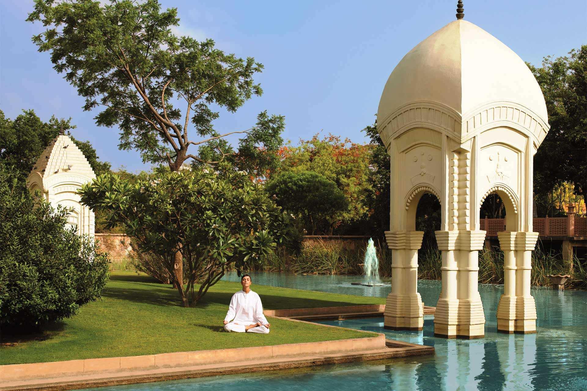 The Oberoi Rajvilas Pool