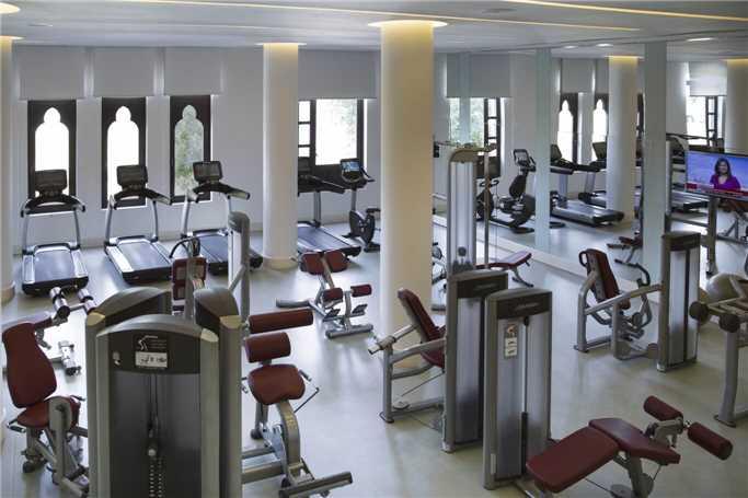 Salalah Rotana Resort Fitnessbereich