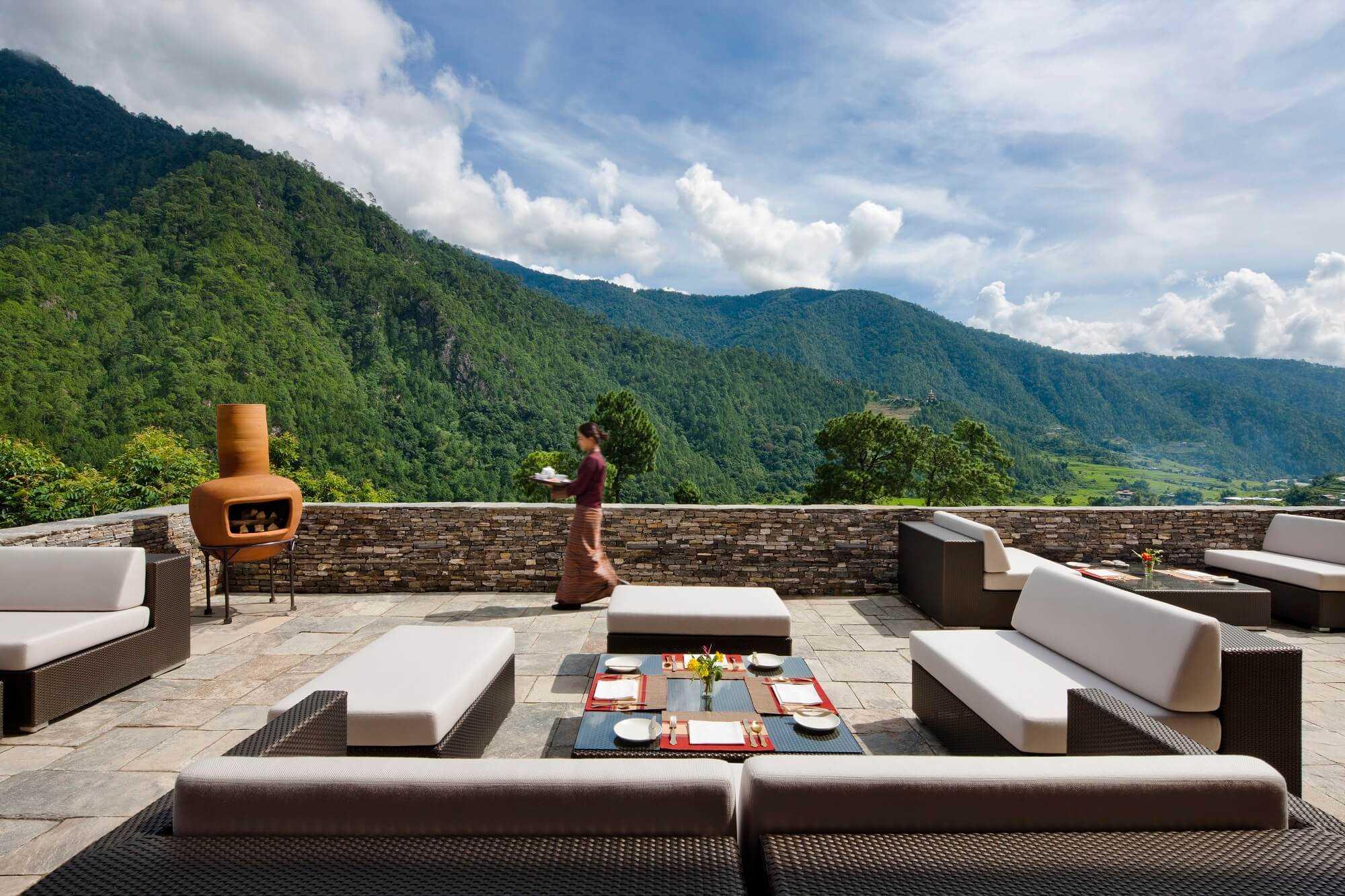 Como Uma Punakha Terrasse