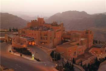 Mövenpick Nabatean Castle Hotel Ansicht