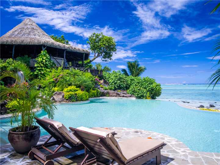 Pacific Resort Aitutaki Nui Liegen