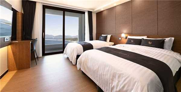 UTOP Marina Hotel & Resort Yeosu Expo Doppelzimmer