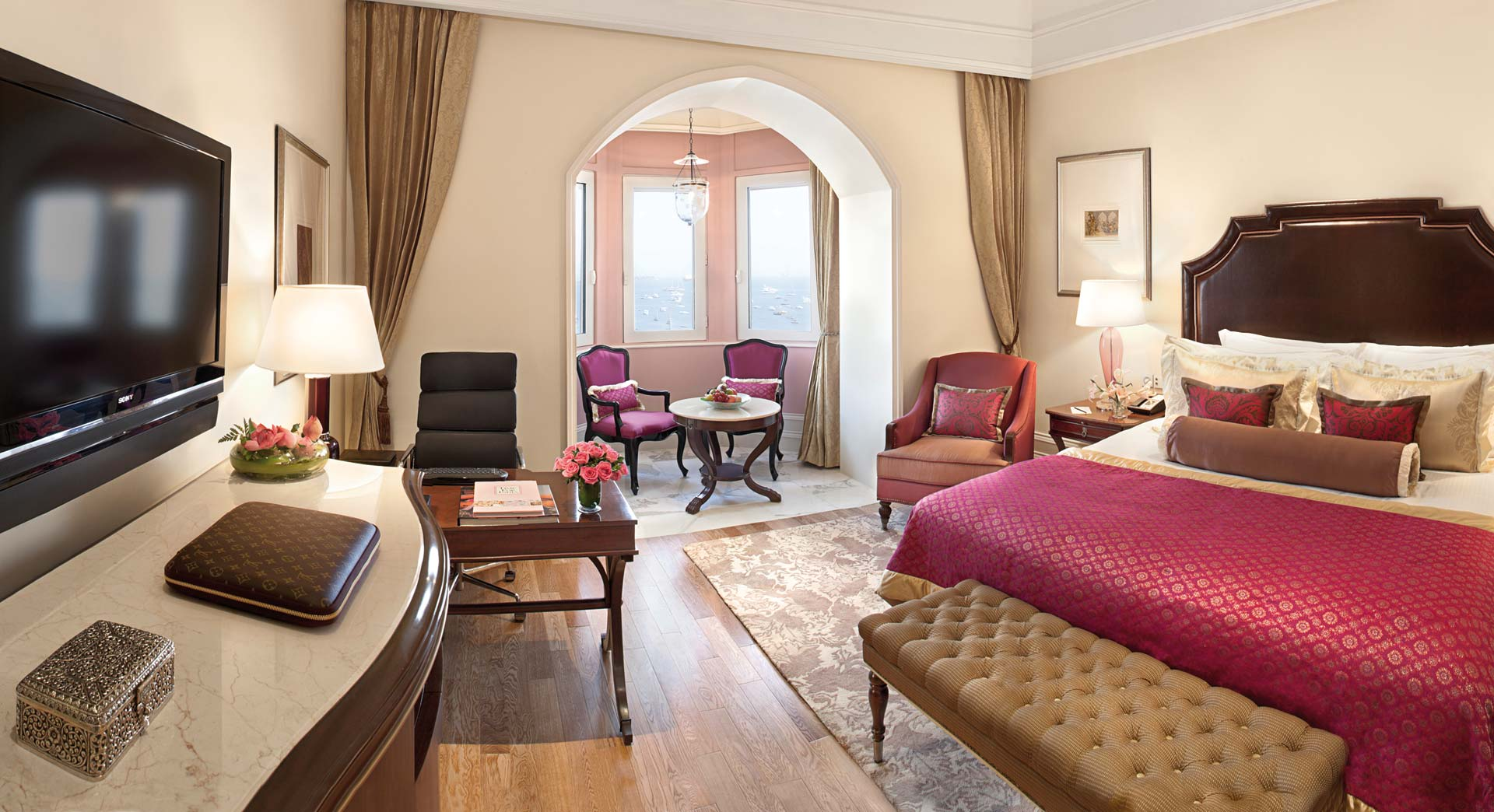 The Taj Mahal Palace Luxury Grand Room