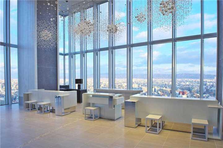 Osaka Marriott Miyako Hotel Rezeption