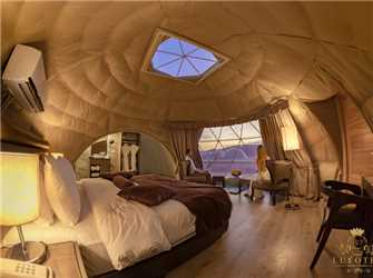 Wadi Rum UFO Luxotel Innenansicht