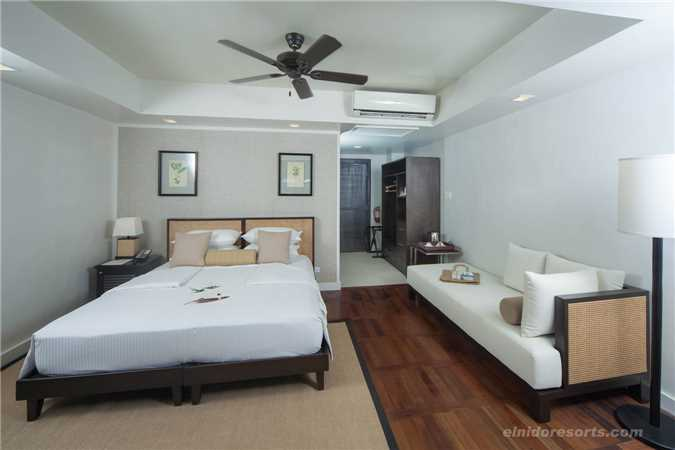 El Nido Resort Lagen Island Doppelzimmer