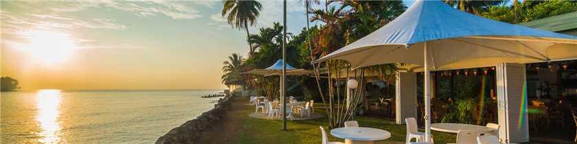 Madang Resort Aussicht