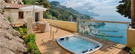 NH Collection Grand Hotel Convento di Amalfi Terrasse